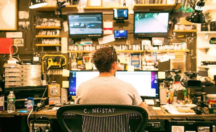 Escritório do Casey Neistat em Nova York